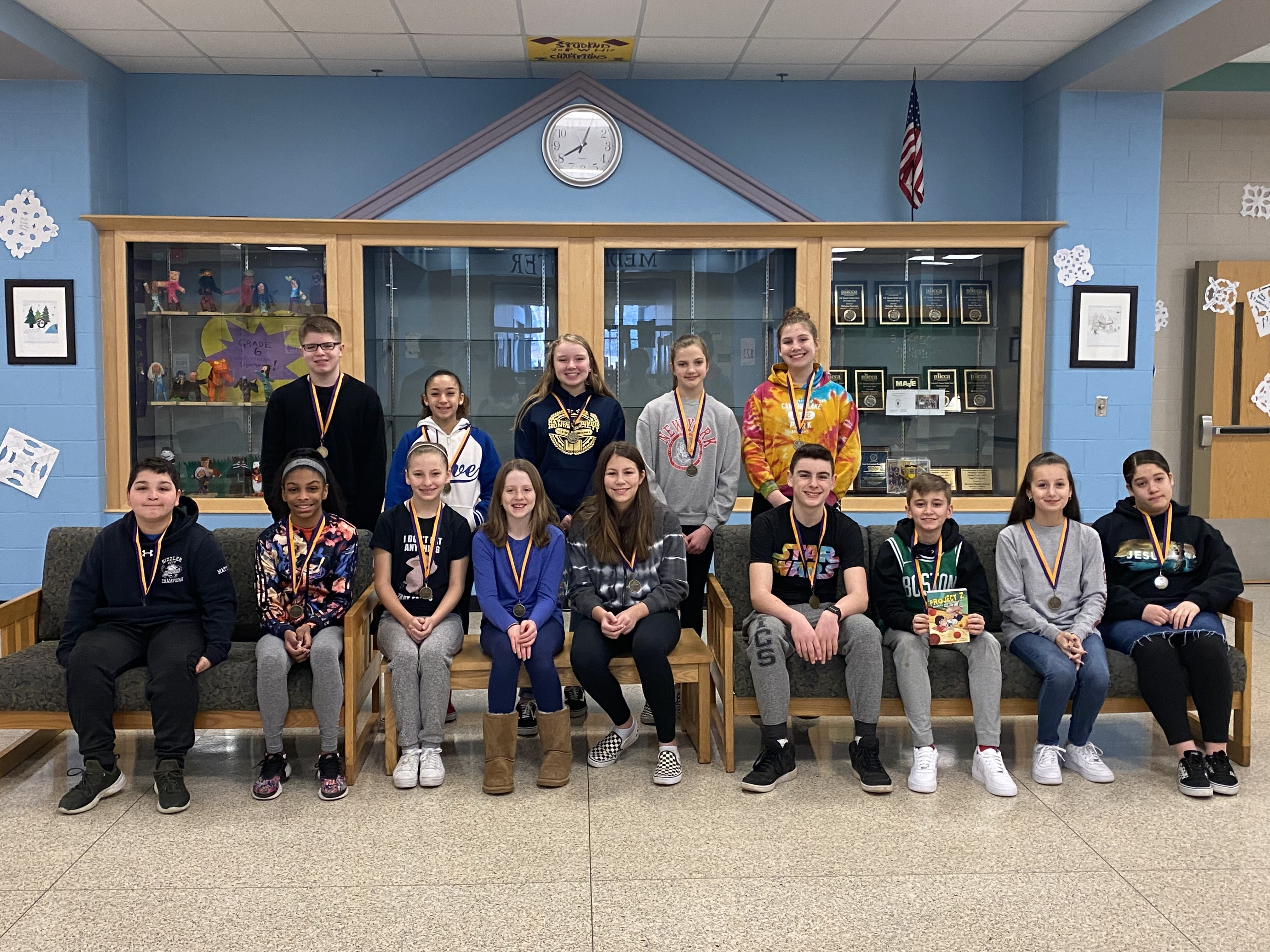 February's Students of the Month